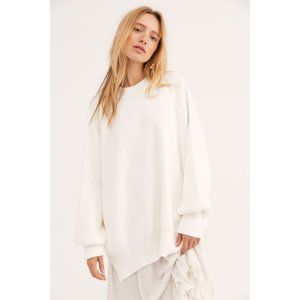 Free People Easy Street Oversized Chunky Sweater